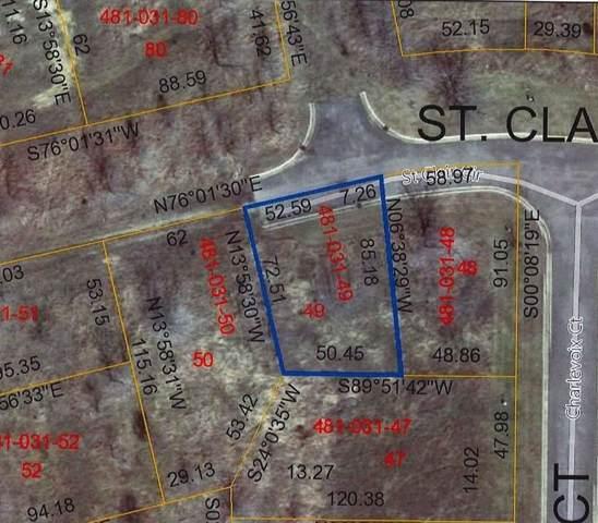 0 St. Clair Lot B, Brooklyn Vlg, MI 49230 (#543270688) :: The Buckley Jolley Real Estate Team