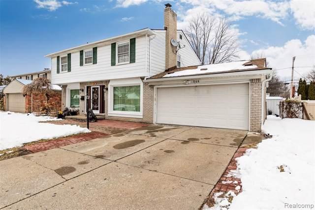 546 Norborne Avenue, Dearborn Heights, MI 48127 (#2200004217) :: GK Real Estate Team