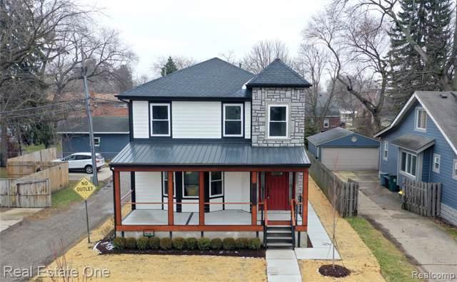 817 Cherokee Avenue, Royal Oak, MI 48067 (#2200004256) :: The Alex Nugent Team | Real Estate One
