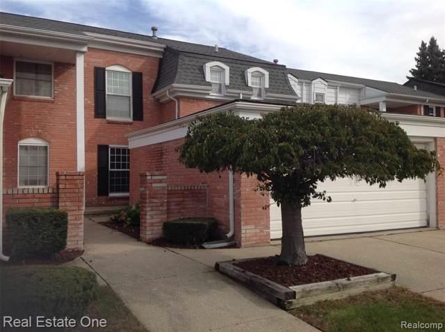 65 Manor Way, Rochester Hills, MI 48309 (#2200004298) :: The Alex Nugent Team | Real Estate One