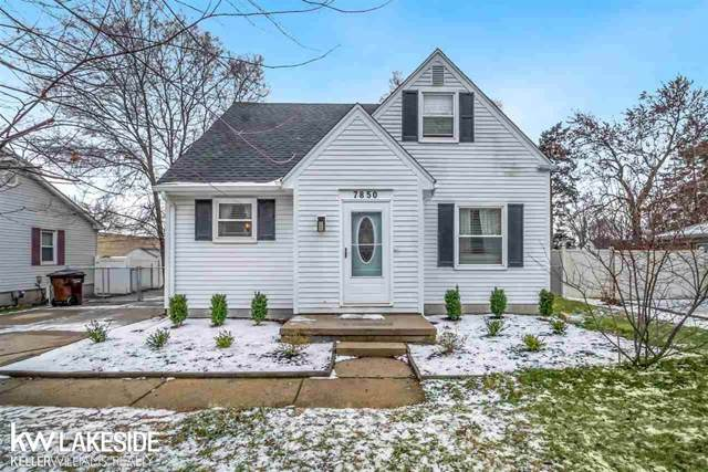 7850 Carpenter St, Shelby Twp, MI 48317 (#58050003663) :: The Alex Nugent Team   Real Estate One