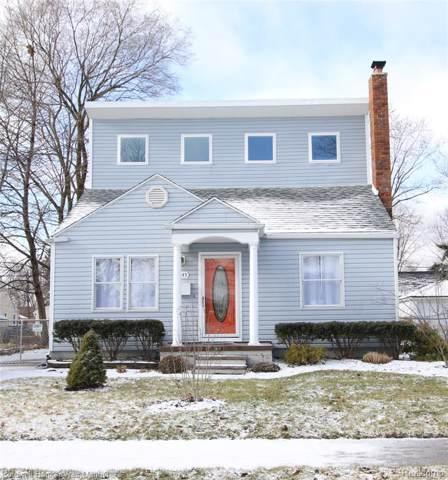 3845 Prairie Avenue, Berkley, MI 48072 (#2200004341) :: Springview Realty