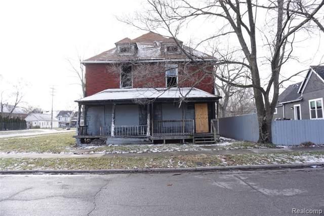 1407 Mckinstry Street, Detroit, MI 48209 (MLS #2200004365) :: The Toth Team