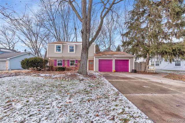 2727 Renshaw Drive, Troy, MI 48085 (#2200004463) :: The Alex Nugent Team | Real Estate One