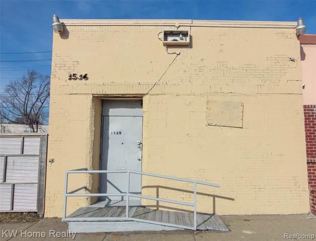 3536 Michigan Avenue, Detroit, MI 48216 (MLS #2200004472) :: The Toth Team