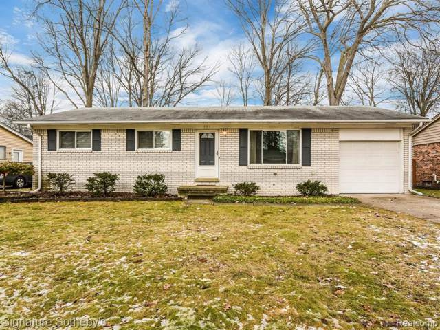 351 Starr Drive, Troy, MI 48083 (#2200004618) :: The Alex Nugent Team | Real Estate One