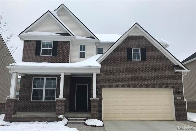 739 Groveland Circle, Pittsfield Twp, MI 48108 (#2200004619) :: The Alex Nugent Team | Real Estate One
