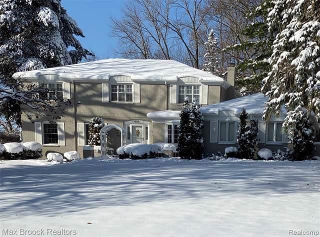 498 Dunston Road, Bloomfield Hills, MI 48304 (#2200004665) :: Keller Williams West Bloomfield