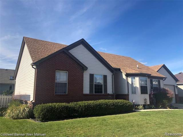 46633 Heather Lane, Chesterfield Twp, MI 48051 (#2200004718) :: The Mulvihill Group