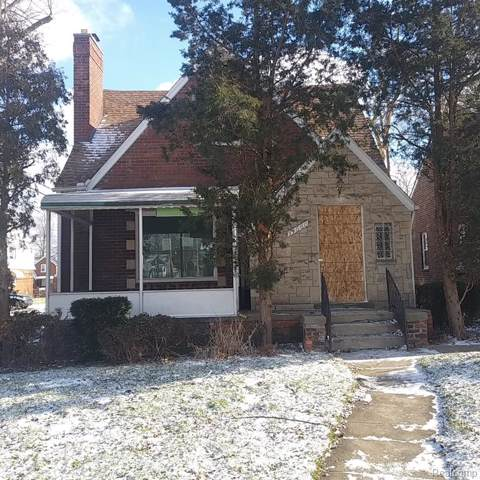 14660 Strathmoor Street, Detroit, MI 48227 (#2200004873) :: Springview Realty