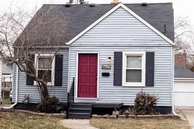 20437 Kenosha Street, Harper Woods, MI 48225 (#2200004880) :: Springview Realty