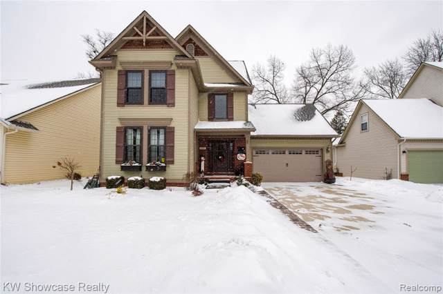 408 Stone Wood Court, Milford Vlg, MI 48381 (#2200004930) :: RE/MAX Nexus