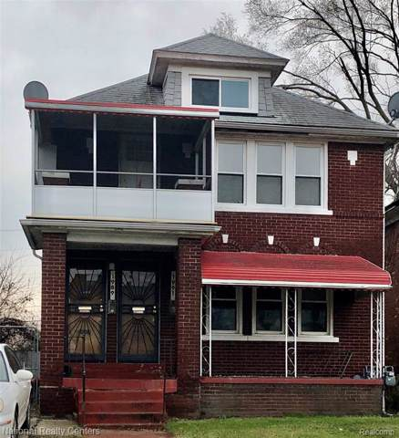1989 Kendall Street, Detroit, MI 48238 (MLS #2200004933) :: The Toth Team
