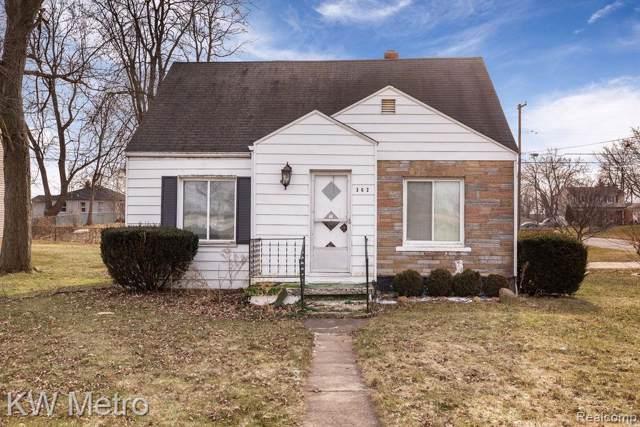 362 Lehigh Avenue, Pontiac, MI 48340 (#2200005000) :: Duneske Real Estate Advisors