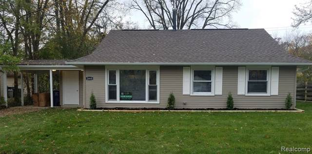 2460 Yost Boulevard, Ann Arbor, MI 48104 (#2200005051) :: The Alex Nugent Team   Real Estate One