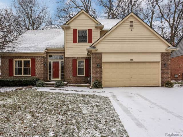 673 Lake Ridge Road, Rochester Hills, MI 48307 (#2200005070) :: Team Sanford