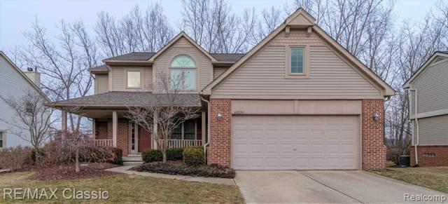 42834 Ledgeview Drive, Novi, MI 48377 (#2200005077) :: The Alex Nugent Team | Real Estate One