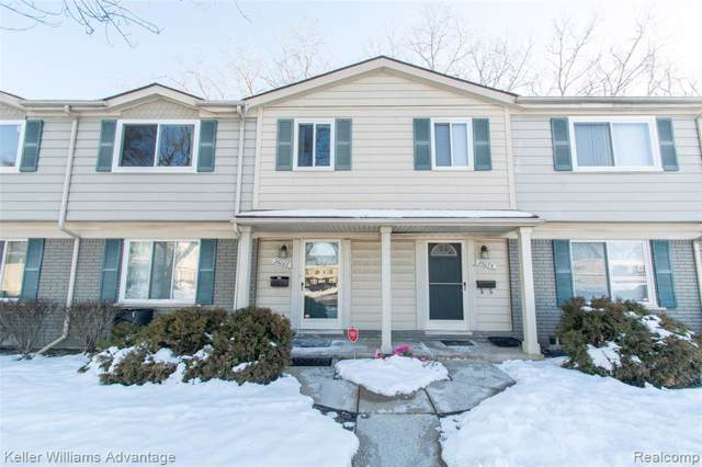 26082 Franklin Pointe Drive, Southfield, MI 48034 (#2200005085) :: The Mulvihill Group