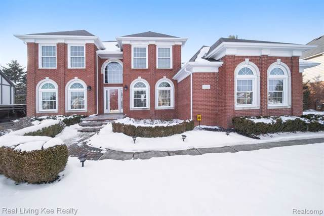54033 Whitby Way, Shelby Twp, MI 48316 (#2200005115) :: The Alex Nugent Team | Real Estate One