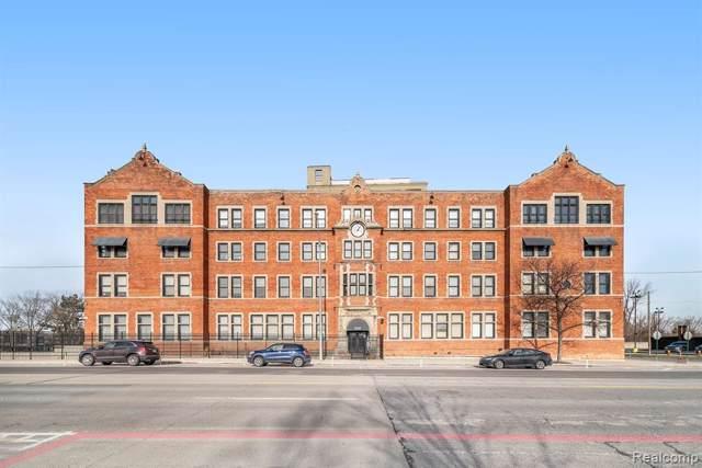 6533 E Jefferson Avenue #323, Detroit, MI 48207 (#2200005222) :: The Buckley Jolley Real Estate Team