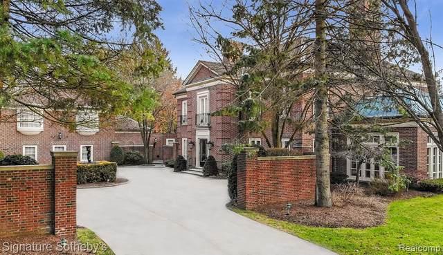 325 Dunston Road, Bloomfield Hills, MI 48304 (#2200005259) :: The Buckley Jolley Real Estate Team