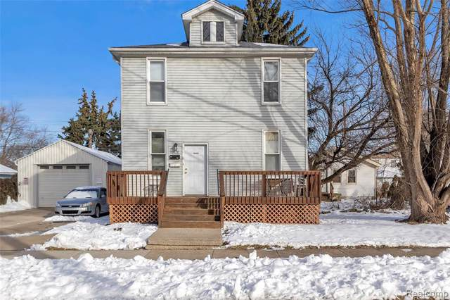 1528 Pagel Avenue, Lincoln Park, MI 48146 (#2200005427) :: The Mulvihill Group