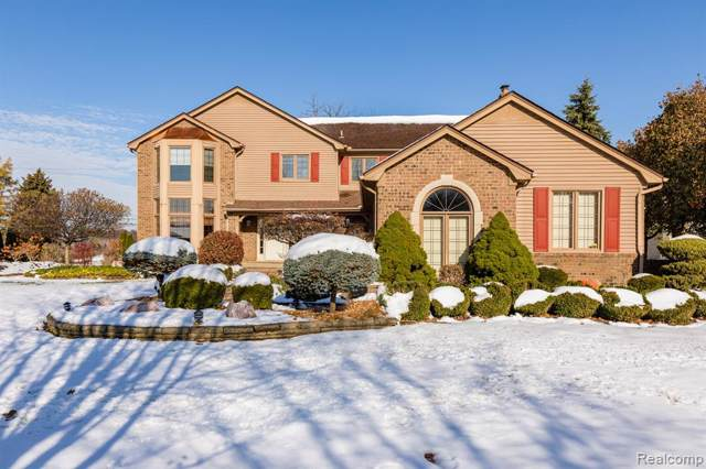 14851 Chatham Drive, Shelby Twp, MI 48315 (#2200005609) :: The Mulvihill Group