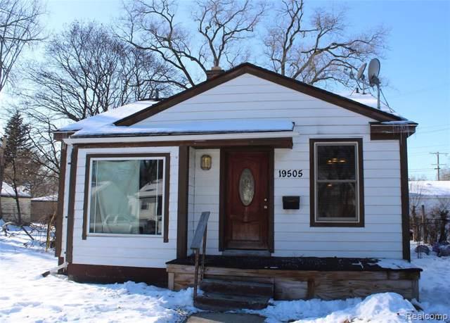 19505 Trinity Street, Detroit, MI 48219 (#2200005702) :: RE/MAX Nexus