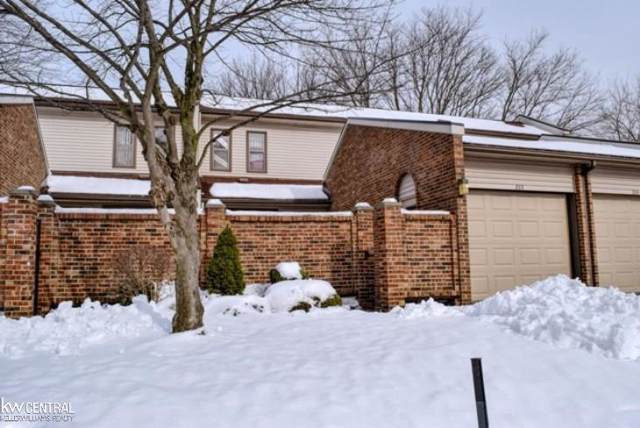 333 Willow Grove Ln Bldg 18 / Unit , Rochester Hills, MI 48307 (#58050004127) :: Team Sanford