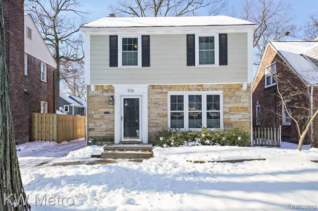 506 S Connecticut Avenue, Royal Oak, MI 48067 (#2200006191) :: Keller Williams West Bloomfield