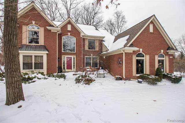 19895 Windridge Dr, Northville, MI 48167 (#2200006461) :: Keller Williams West Bloomfield