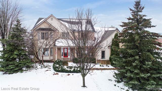 689 Perthshire Court, Highland Twp, MI 48357 (#2200006482) :: The Mulvihill Group
