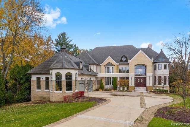 3425 W Long Lake Road, West Bloomfield Twp, MI 48323 (#2200006500) :: GK Real Estate Team