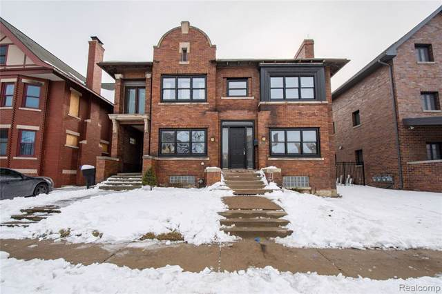 296 Eliot Street, Detroit, MI 48201 (MLS #2200006701) :: The John Wentworth Group