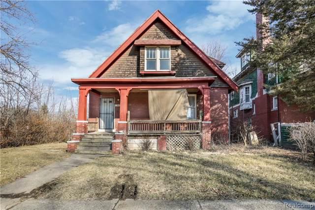 160 Webb Street, Detroit, MI 48202 (#2200006704) :: GK Real Estate Team