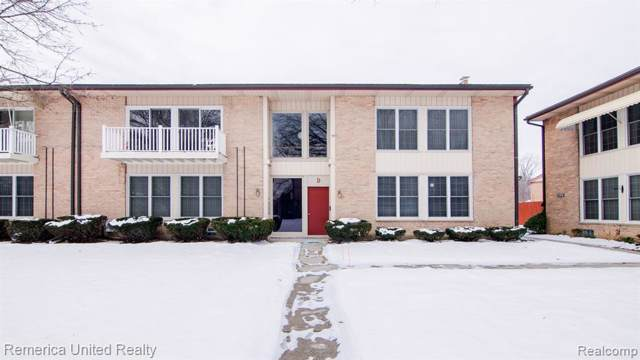 1199 S Sheldon Road #28, Plymouth, MI 48170 (MLS #2200006726) :: The Toth Team