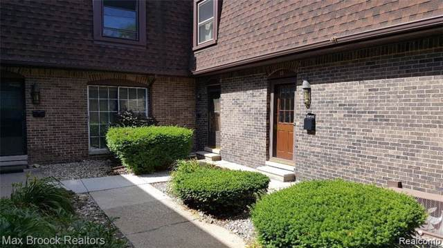 5005 Crooks Road #34, Royal Oak, MI 48073 (#2200006765) :: GK Real Estate Team