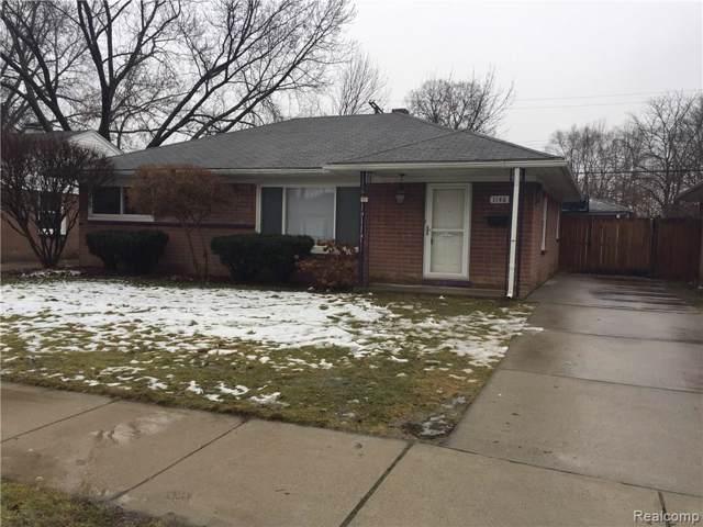 1146 E Barrett Avenue, Madison Heights, MI 48071 (#2200006810) :: GK Real Estate Team