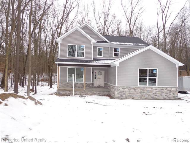 4662 Oak Lane, Hamburg Twp, MI 48189 (#2200006988) :: The Buckley Jolley Real Estate Team
