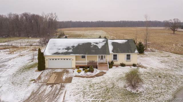 420 W Church Road, Perry Twp, MI 48857 (#2200007045) :: The Buckley Jolley Real Estate Team