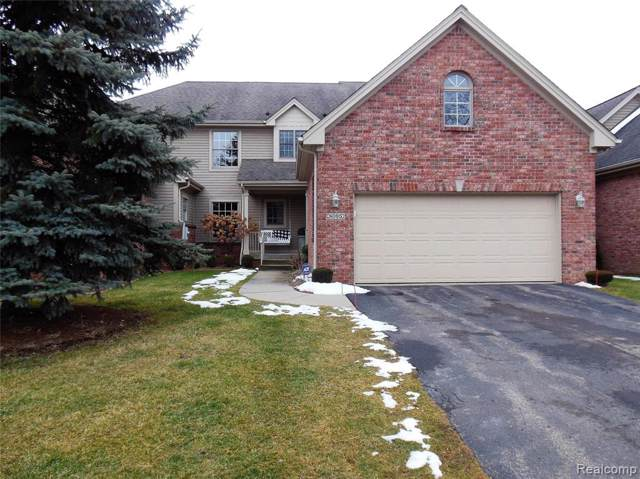 8095 Woodstone Court, Grand Blanc Twp, MI 48439 (#2200007313) :: The BK Agency