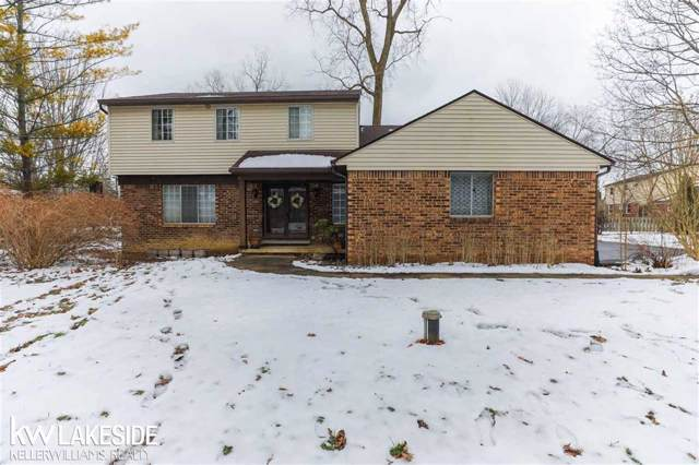 2055 Strader Dr, West Bloomfield, MI 48324 (#58050004534) :: Keller Williams West Bloomfield