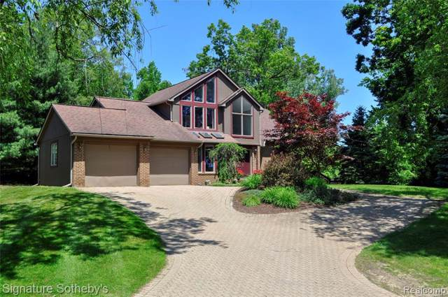 2478 Lake Angelus Lane, Lake Angelus, MI 48326 (#2200007581) :: The Buckley Jolley Real Estate Team