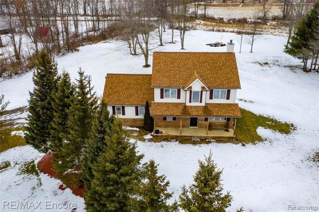 1795 Low Wood Trail, Addison Twp, MI 48367 (#2200007647) :: The Mulvihill Group