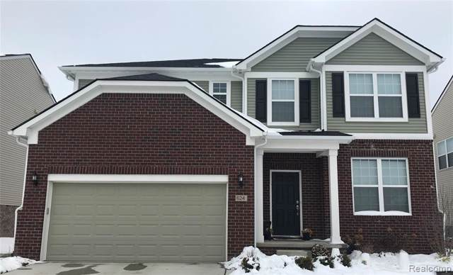 21214 Calabrese Drive, Lyon Twp, MI 48178 (#2200008278) :: The Mulvihill Group