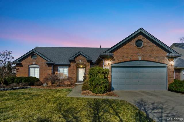 45056 Turnberry Court, Canton Twp, MI 48188 (#2200008342) :: Springview Realty