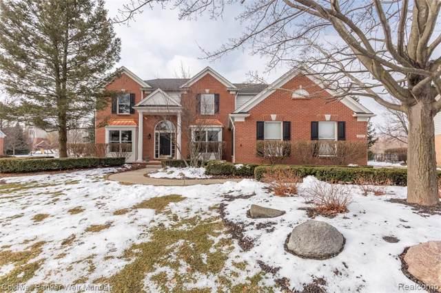 17137 Orchard Ridge Road, Northville Twp, MI 48168 (#2200008346) :: The Buckley Jolley Real Estate Team