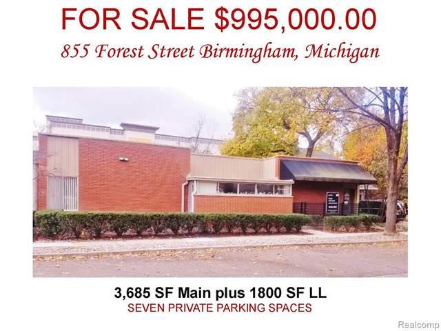 855 Forest Avenue, Birmingham, MI 48009 (#2200008364) :: RE/MAX Nexus
