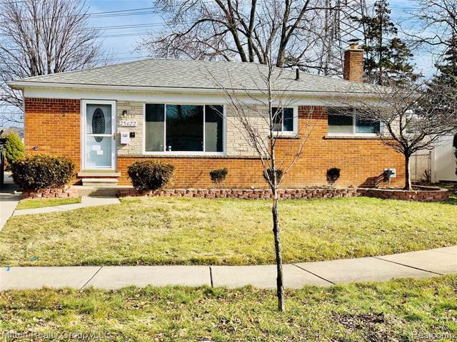 25022 Palomino Avenue, Warren, MI 48089 (#2200009026) :: The Buckley Jolley Real Estate Team
