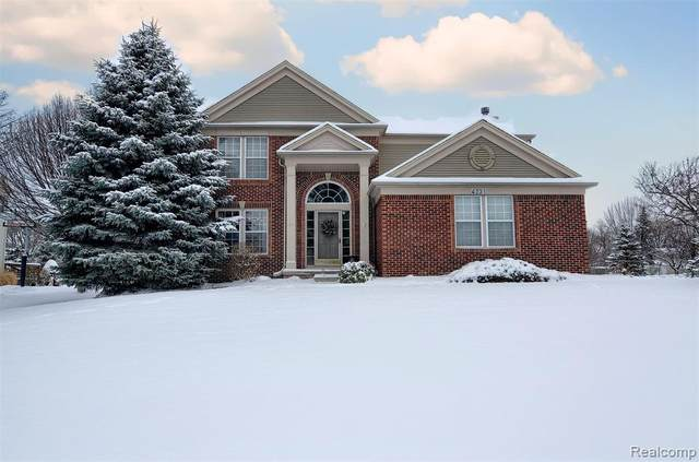 4331 Redding Circle, Grand Blanc Twp, MI 48439 (#2200009037) :: The Buckley Jolley Real Estate Team
